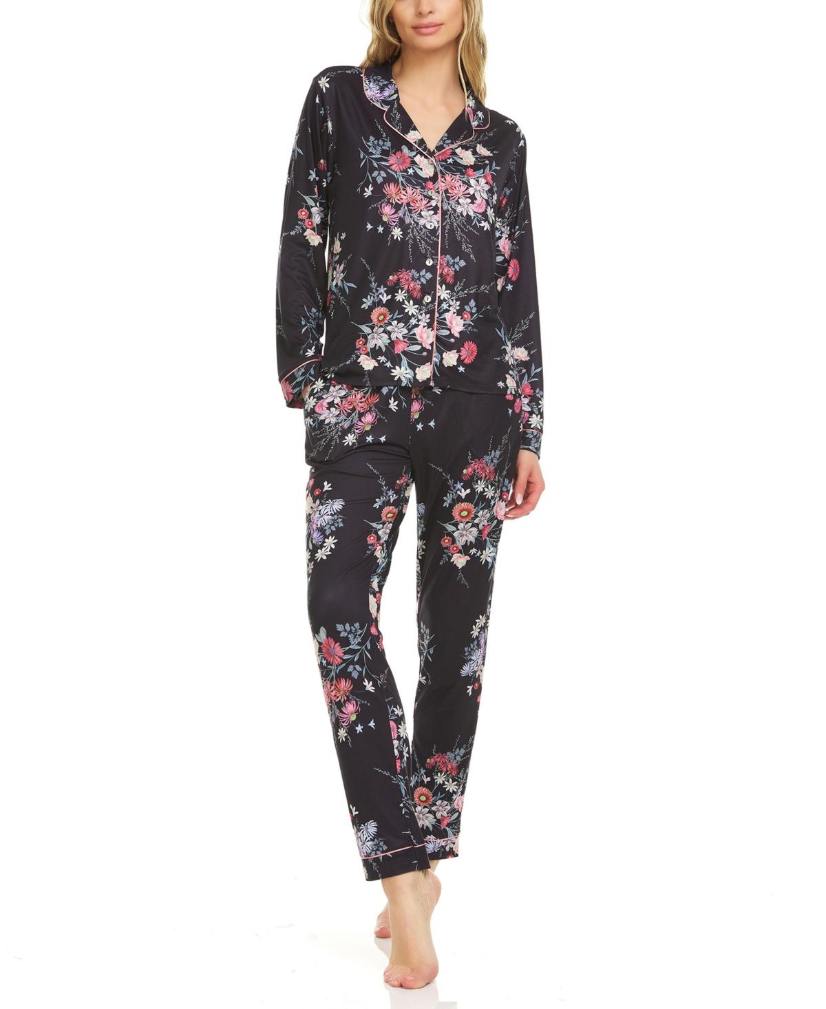Women's Josephine Printed Notch Pajama Set
