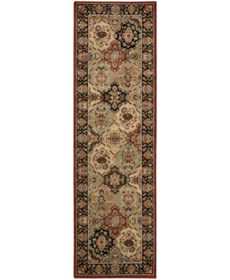 "Home Lumiere Persian Tapestry Multicolor 2'3"" x 7'9"" Runner Rug"