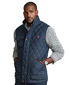 Men's Big & Tall Water-Repellant Quilted Vest