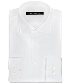 Classic/Regular Fit Men's Big and Tall Solid Classic-Fit Dress Shirt