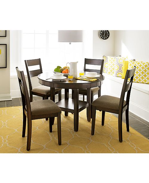 93d444c6c92c Furniture CLOSEOUT! Branton Round Dining Table   Reviews - Furniture ...
