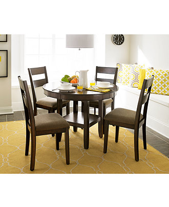 Branton Round Kitchen Room Furniture Collection Only At