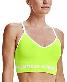 Women's UA Seamless Long-Line Low-Impact Sports Bra