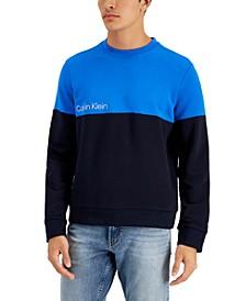 Men's Colorblocked Terry Sweatshirt