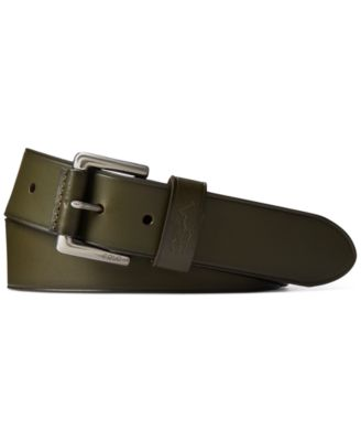 폴로 랄프로렌 Polo Ralph Lauren Mens Signature Pony Leather Belt