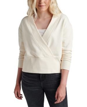 Jeans Women's The Cross Front Sweatshirt Top