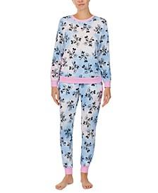 Mickey & Minnie Mouse Sleep Sweatshirt & Jogger Pants