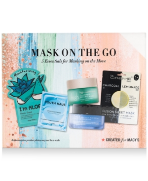 5-Pc. Mask On The Go Set, Created for Macy's