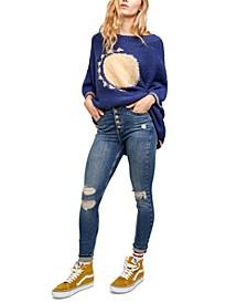 Sabrina Super Skinny Destructed jeans