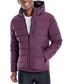 Men's Hipster Puffer Jacket, Created for Macy's