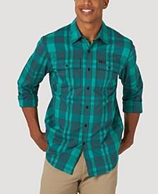 Men's Long Sleeve Snap-flap Pocket Shirt