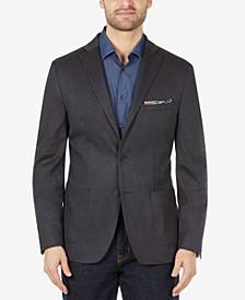 Men's Slim-Fit Knit Suit Jacket