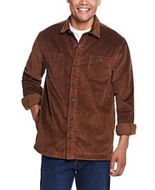 Men's Cord Shirt Jacket
