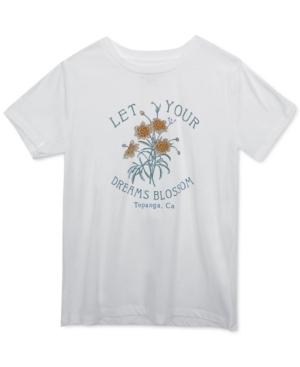 Juniors' Dream Blossom Graphic T-Shirt
