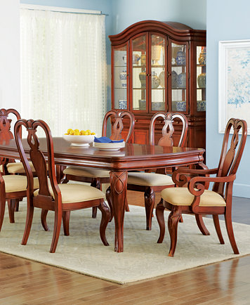 Bordeaux 9-Piece Dining Room Furniture Set, Created for Macy\'s ...