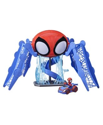 Spidey and His Amazing Friends Web Quarters Playset