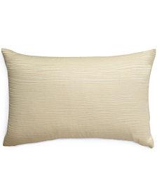 CLOSEOUT! Donna Karan Home Reflection Ivory Standard/Queen Sham