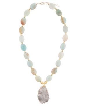 Women's Renew Faux Stone Pendant Necklace