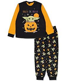 Matching Unisex Star Wars Yoda Trick Or Treat Family Pajama Set