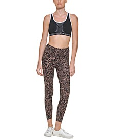 Women's Printed High-Waisted 7/8 Tights