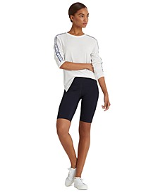 Stretch Jersey Bike Shorts