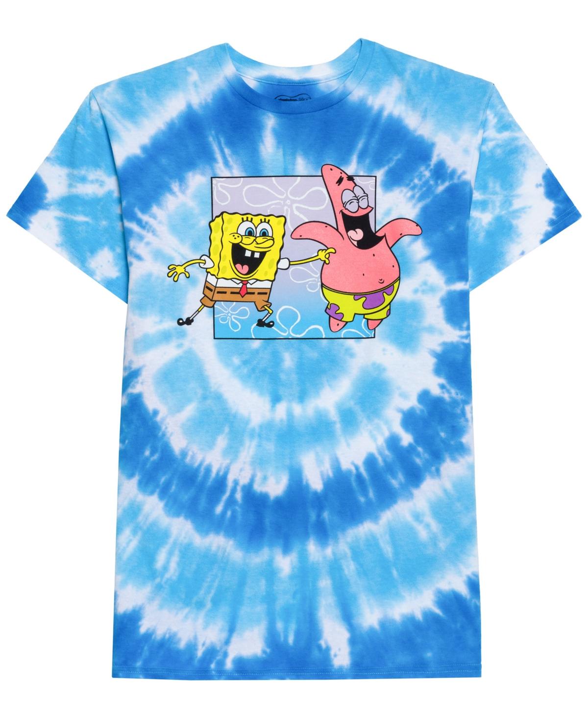 Men's Boxed Spongebob Graphic T-Shirt