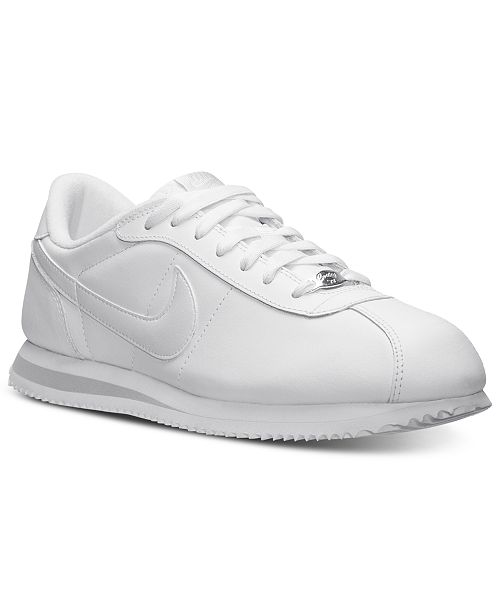d8107414a0d7 Nike Men s Cortez Basic Leather Casual Sneakers from Finish Line ...