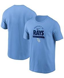 Men's Light Blue Tampa Bay Rays Primetime Property Of Practice T-shirt