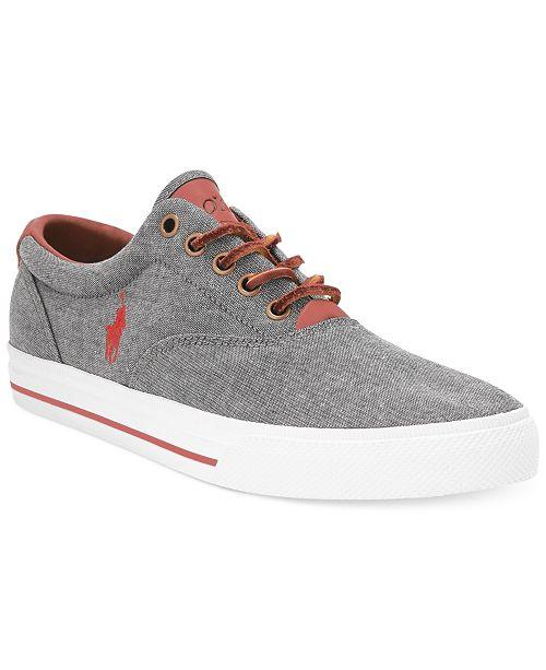 04d0aa3ce Polo Ralph Lauren Men s Vaughn Lace-Up Sneakers   Reviews - All ...