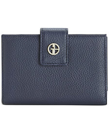 Giani Bernini Softy Leather Index Wallet, Created for Macy's