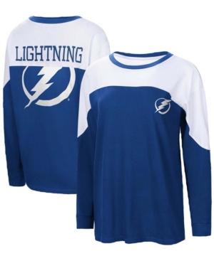 Women's Blue St. Louis Blues Pop Fly Long Sleeve T-shirt