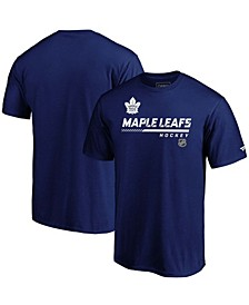 Men's Big and Tall Blue Toronto Maple Leafs Authentic Pro Core Collection Prime T-shirt