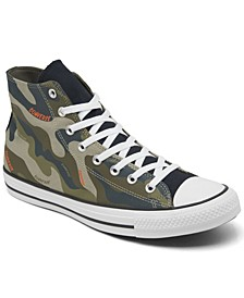 Men's Chuck Taylor 70 Hybrid Camo High Top Casual Sneakers from Finish Line