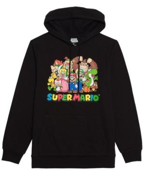 Men's Super Mario Group Hooded Fleece Sweatshirt