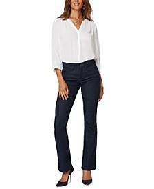 Barbara Bootcut High-Rise Tummy-Control Denim Jeans
