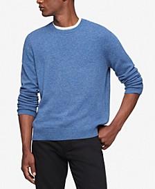 Men's Solid Merino Wool Sweater