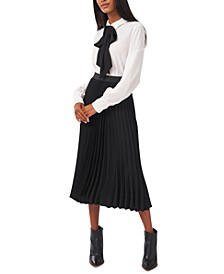Avery Pleated Skirt, Created for Macy's