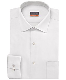 Men's Big & Tall Classic/Regular-Fit Stain Shield Performance Stretch Textured Dress Shirt