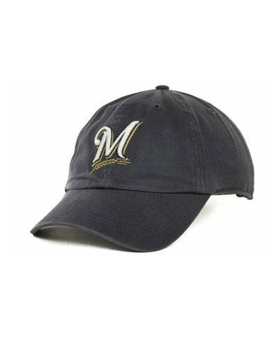 '47 Brand Milwaukee Brewers MLB Clean Up Cap