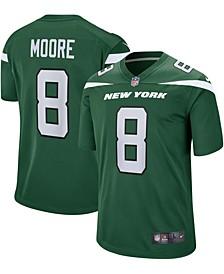 Men's Elijah Moore Gotham Green New York Jets 2021 NFL Draft Pick Player Game Jersey