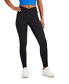 On Repeat Crossover-Waist Full Length Legging, Created for Macy's
