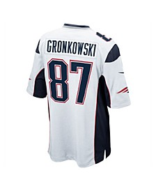 Men's Rob Gronkowski New England Patriots Game Jersey