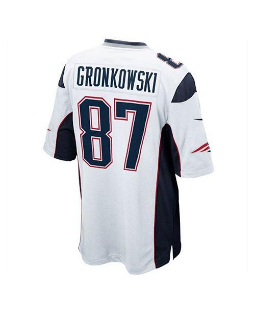 Nike Men s Rob Gronkowski New England Patriots Game Jersey - Sports ... 0aa6bc54c