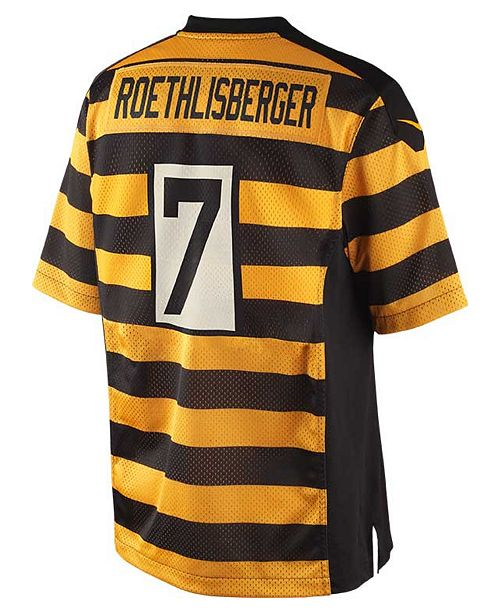 ... Nike Men s Ben Roethlisberger Pittsburgh Steelers Game Jersey ... 9e8a367a3