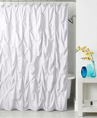 park b. smith pouf shower curtain - shower curtains - bed & bath