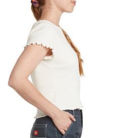 Cotton Ribbed Baby T-Shirt