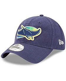 Men's Navy Tampa Bay Rays Alternate Replica Core Classic 9TWENTY Adjustable Hat