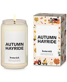 Autumn Hayride Candle, 13.75-oz.