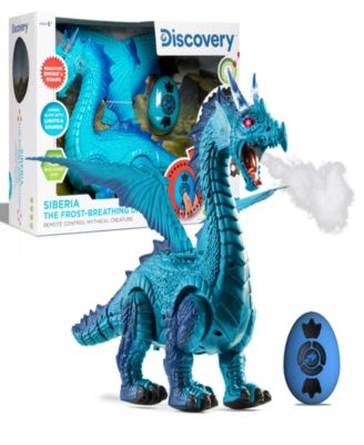 Discovery Kids Remote Control Dragon Smoke Breathing Pet Toy