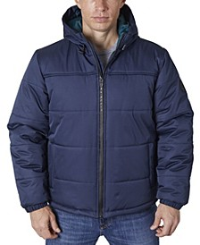 Men's Heavy Ripstop Fashion Puffer Jacket
